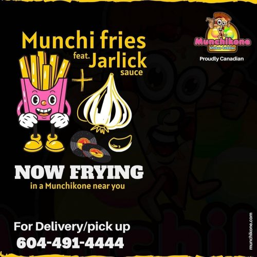 Munchi Fries feat. Jarlic Sauce