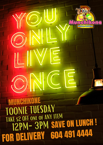 Tonie Tuesday offer